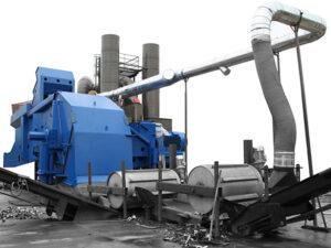 Drake-dechiqueteur-broyeur-chantier-de-recyclage-projac-bleu