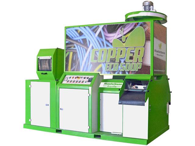 Broyeur Granulateur de cables COPPER-500 PROJAC